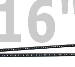 PlasmaGlow 16″ Fire and Ice LED Mud Flap Bars (BARS ONLY)