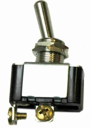 Heavy Duty Toggle Switch – Chrome 20a/12vdc