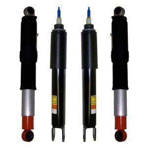 2000-2006 GMC Yukon 4Wheel OEM Electronic Active Suspension Front Gas Shocks & Rear Air Shocks Kit