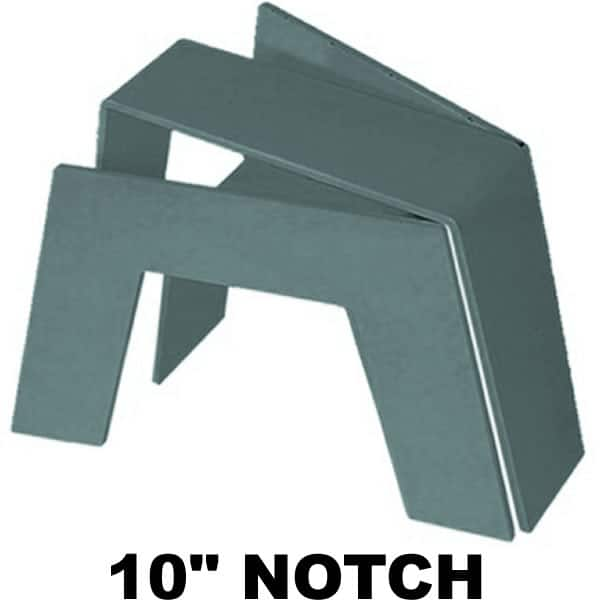 10″ Super C-Notch/Bridge No Shock Bracket, Needs Fabrication