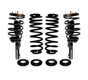1994-2003 Ford Windstar Rear Suspension Air Bag to Coil Spring Conversion & Front Coil Over Gas Strut Replacements Kit