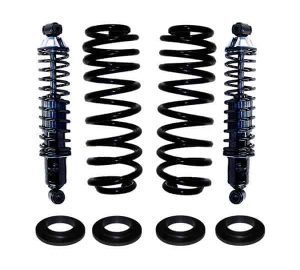 1994-2003 Ford Windstar Rear Suspension Air Bag to Coil Spring Conversion & Heavy Duty Coil Over Gas Shocks Kit