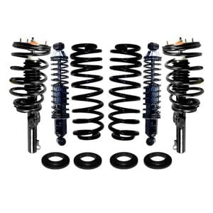 1994-2003 Ford Windstar 4Wheel Air Suspension Conversion & Rear Heavy Duty Coil Over Gas Shocks Kit