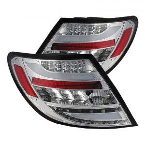 2011-2012 Mercedes Benz C-Class (W204) LED Tail Lights – Chrome