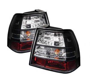 99-04 Volkswagen Jetta LED Tail Lights – Black