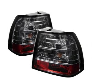 99-04 Volkswagen Jetta LED Tail Lights – Smoked