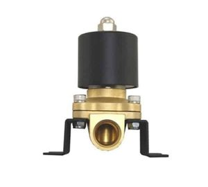 3/8″ 200psi Electronic Brass Air Bag Valve With Mounting Bracket