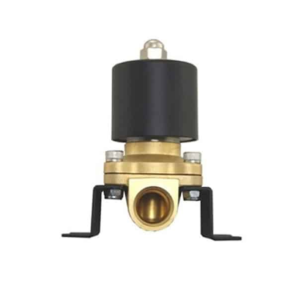 3/4″ 300psi Electronic Brass Air Bag Valve with Mounting Bracket