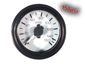 """Dual Analog Pressure Gauge """"Gauge Only, No Fittings"""" – 150psi"""