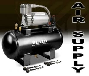 VIAIR Tank & Compressor Kit w/ 1.5 Gallon Tank, and 275C Compressor (12v) Complete Air Management Unit