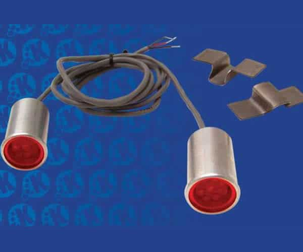 LED Bed Roll Taillight and Turn Signals Kit - Red (Pair)