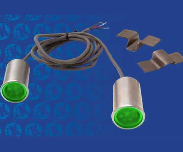 LED Bed Roll Taillight and Turn Signals Kit - Green (Pair)