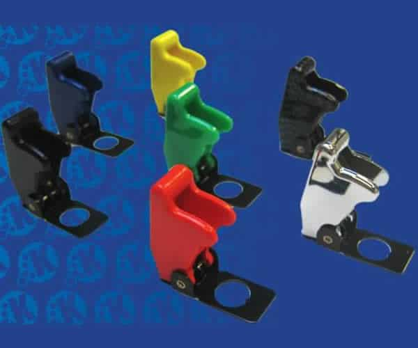 Race Toggle Switch Safety Cover - Carbon Fiber