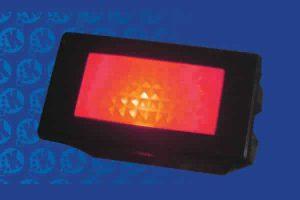 14.2mm x 30.2mm 12V RED LED Indicator with Label Set