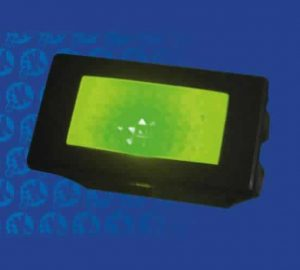 14.2mm x 30.2mm 12V GREEN LED Indicator with Label Set