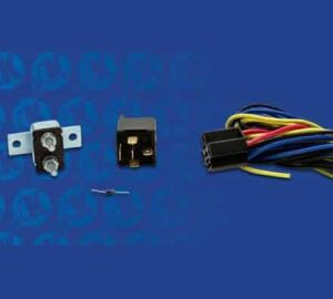 Dual Electric Cooling Fan Relay Kit with Thermostat