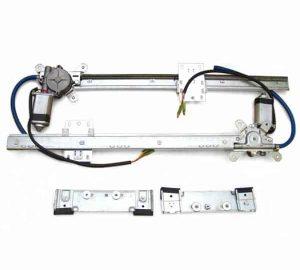 2-Door Universal Flat Power Window Kit (No Switches)