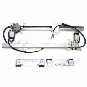 2-Door Universal Flat Power Window Kit (No Switches)