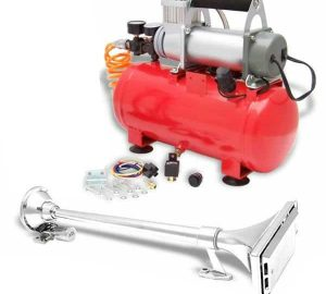 Magnum 44 Long Trumpet High Output Train Truck Air Horn Kit