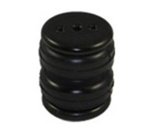 2200lb Double Bellow 4″ Diameter Air Spring – 1/4″ Port Air Bag