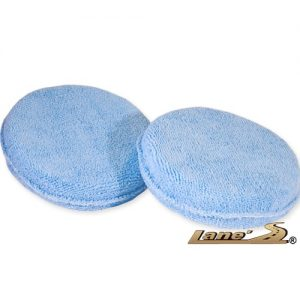 Microfiber Round Wax Applicator 2 Pack