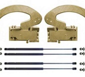 2 Door Universal Lambo Hinge Kit (Struts Included)