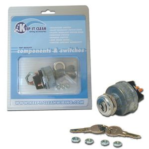 Ignition Switch with Coded Keys