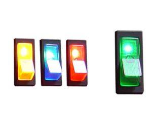 Illuminated Rocker Switch 1 – Green 20a/12v