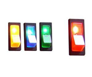 Illuminated Rocker Switch 1 – Red 20a/12v