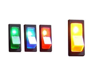 Illuminated Rocker Switch 1 – Yellow 20a/12v