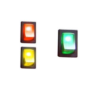 Illuminated Rocker Switch 2 – Green 16a/12vdc