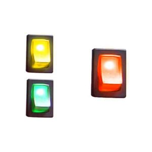 Illuminated Rocker Switch 2 – Red 16a/12vdc