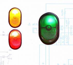 Illuminated Rocker Switch 7 – Green 30a/12v