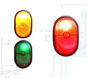 Illuminated Rocker Switch 7 – Red 30a/12v