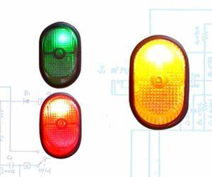 Illuminated Rocker Switch 7 – Yellow 30a/12v