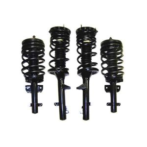 1988-1994 Lincoln Continental 4Wheel Suspension Air Spring Bag Strut to Coil Over Gas Strut Conversion Kit