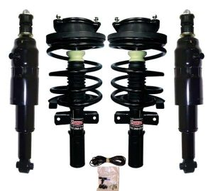 1993 Cadillac Allante 4Wheel Electronic to Passive Suspension Conversion with Front Coil Over Struts & Rear Air Shocks Kit