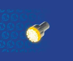 Super Bright Amber (Orange) 1156 Led 12v Bulb