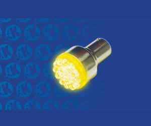 Super Bright Yellow 1156 Led 12v Bulb