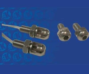 Bright Bolt Stainless Steel 2 Lighted Bolts with Nuts
