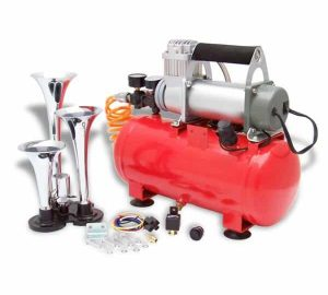 Duke 150psi Tri Trumpet High Output Train Truck Air Horn Kit