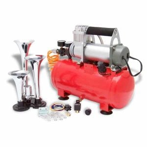 Habanero 150psi Tri Trumpet High Output Train Truck Air Horn Kit