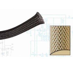2 1/2″ Beige Ultra Wrap Wire Loom – 50 Feet