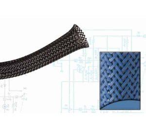 2 1/2″ Blue Ultra Wrap Wire Loom – 50 Feet