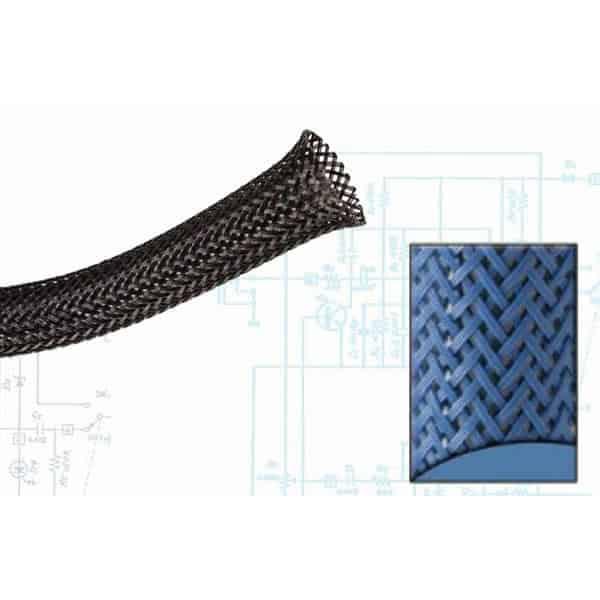 3/4″ Blue Ultra Wrap Wire Loom – 100 Feet
