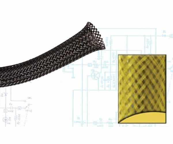 1/8″ Yellow Ultra Wrap Wire Loom – 250 Feet