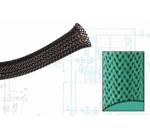 2 1/2″ Green Ultra Wrap Wire Loom – 50 Feet