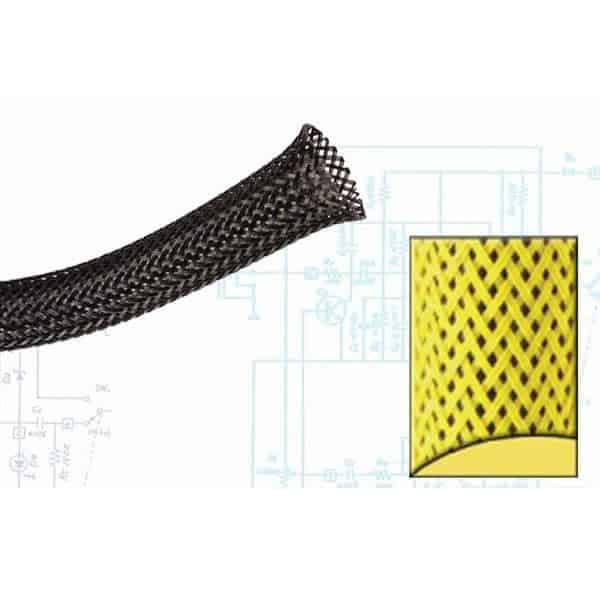 1/8″ Neon Yellow Ultra Wrap Wire Loom – 250 Feet