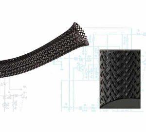2 1/2″ Black Ultra Wrap Wire Loom – 50 Feet