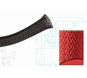 2 1/2″ Red Ultra Wrap Wire Loom – 50 Feet